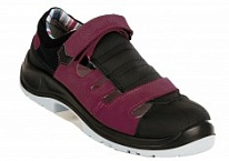 Обувь  AIR OPEN LADY AUBERGINE S1P SRC ESD
